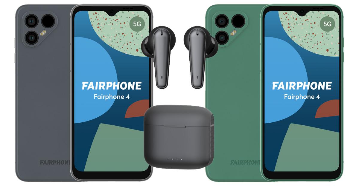Fairphone introduceert nieuwe duurzame smartphone en oordopjes