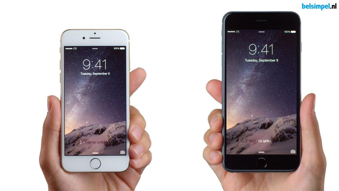 Geruchten over nieuwe, kleinere iPhone
