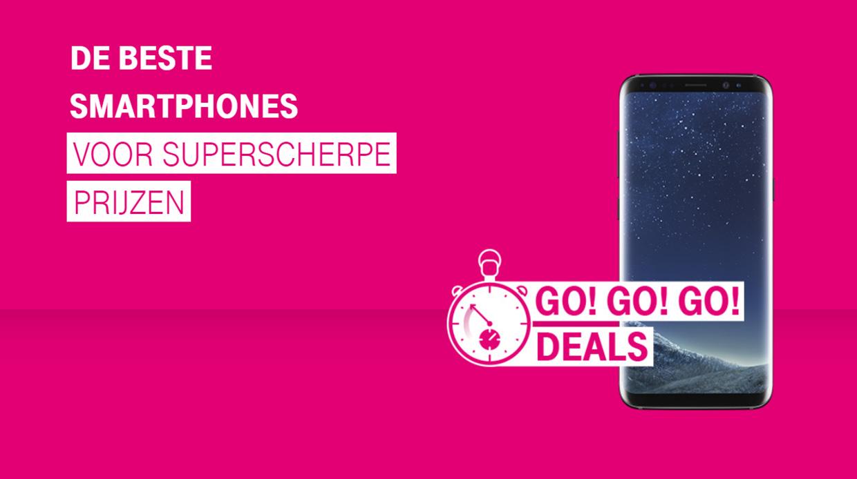 Tijdelijk scherpe GO! GO! GO! Deals bij T-Mobile!
