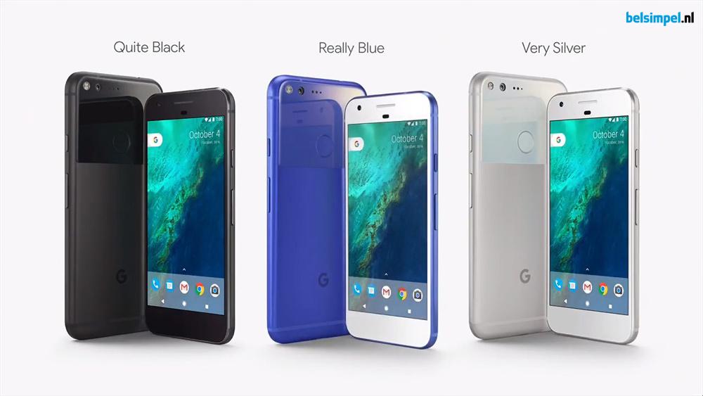 Google Pixel en Pixel XL officieel aangekondigd!