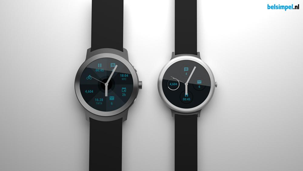 Komt Google met een eigen smartwatch?