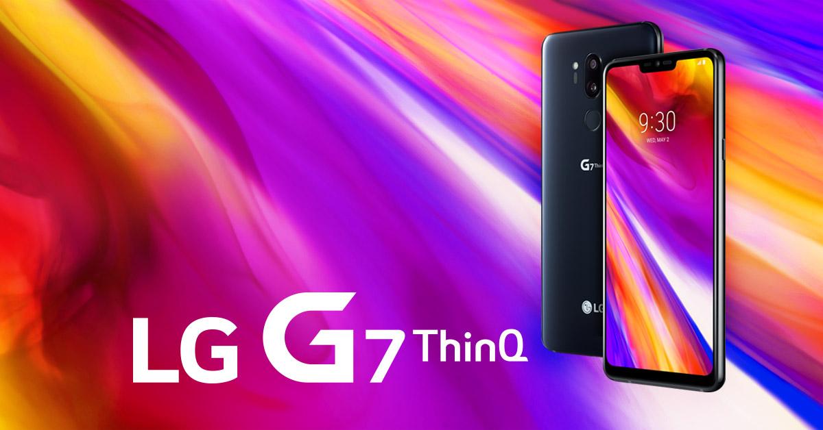Nieuw: de LG G7 ThinQ