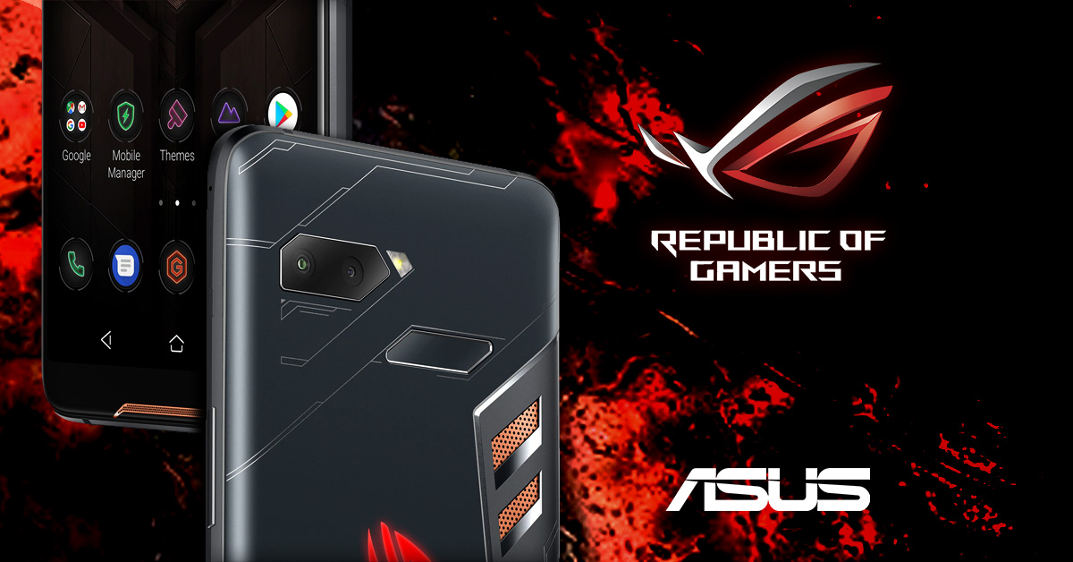 Asus presenteert gaming-smartphone