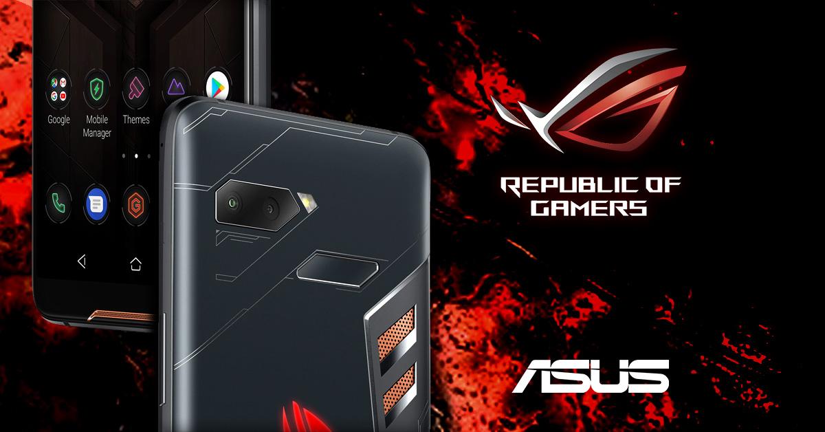 Asus presenteert gaming-smartphone