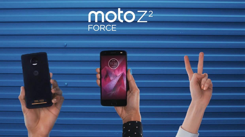 Motorola Moto Z2 Force onthuld