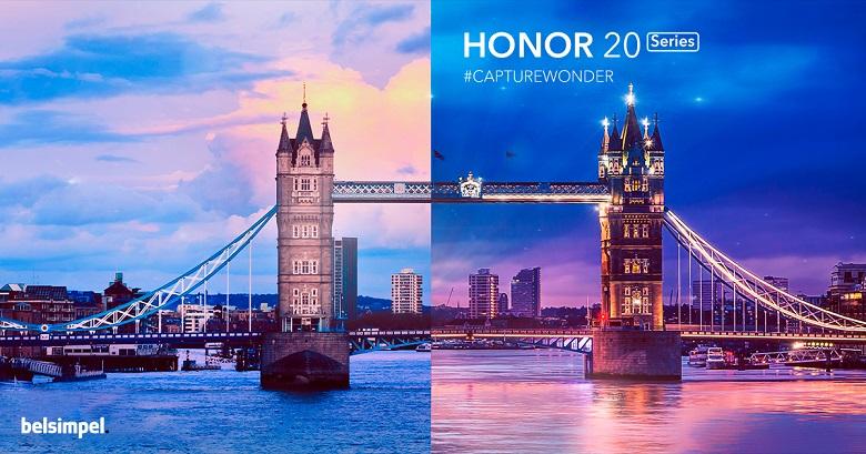 Honor presenteert haar nieuwe Honor 20-toestellen binnenkort in Londen!