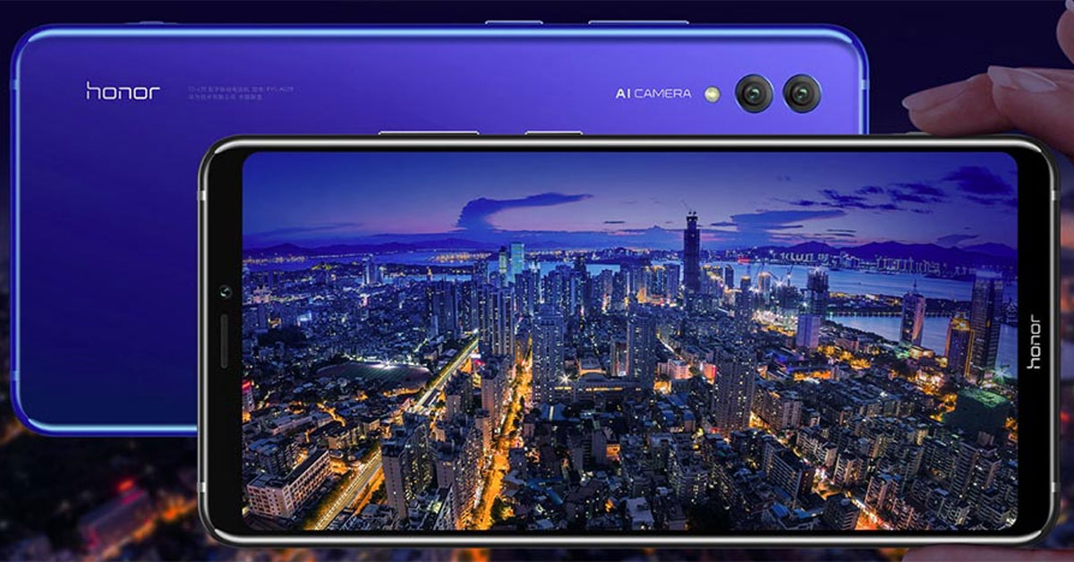 Honor presenteert de Honor Note 10 in China