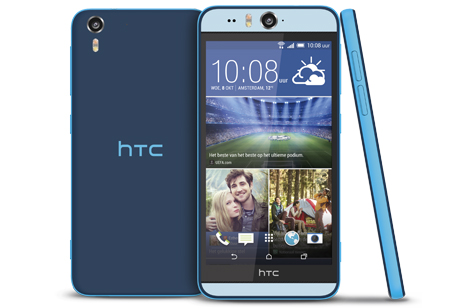 HTC presenteert selfiephone Desire Eye