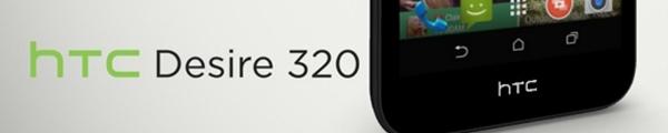 Nieuw budgettoestel van HTC: de HTC Desire 320