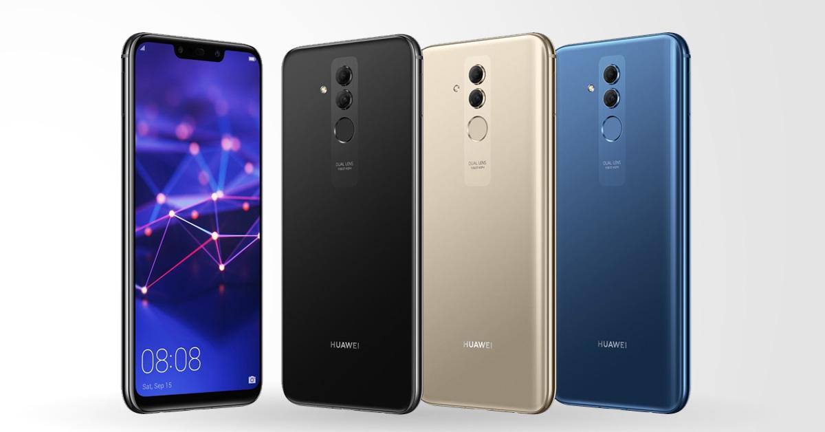 Huawei Mate 20 Lite: mooi design, groot scherm, krachtige processor en grote batterij
