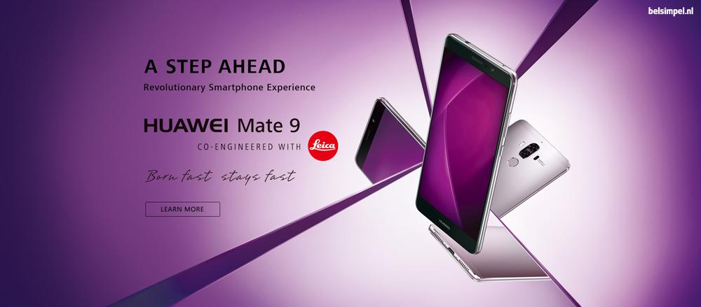 Huawei voegt Mate 9 toe aan phablet-lijn