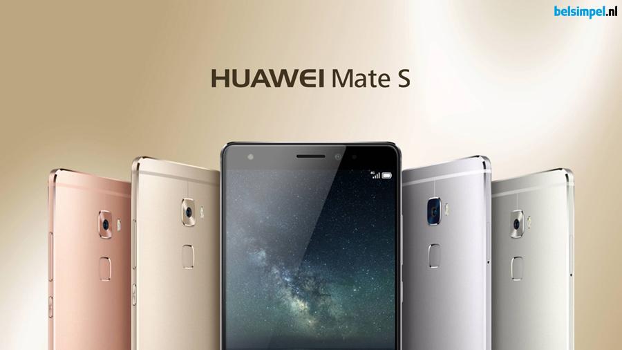 Huawei presenteert de Huawei Mate S en de Huawei G8