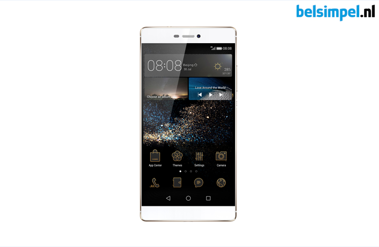 Huawei Ascend P8 officieel gepresenteerd