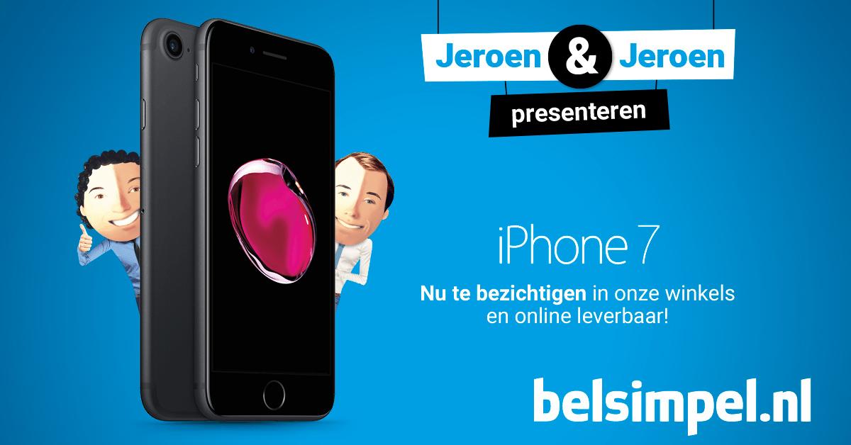 iPhone 7: nu te bezichtigen in alle winkels!