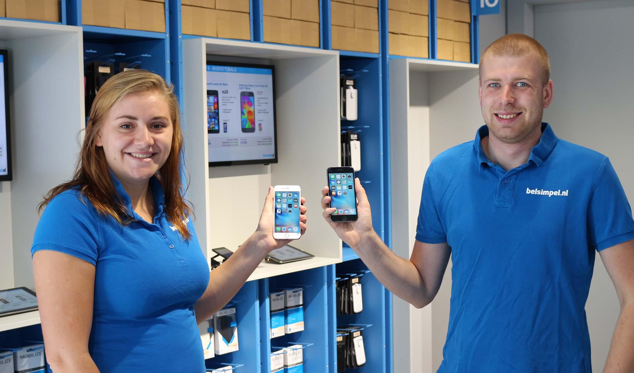 Eerste iPhone 6S verzonden naar klanten Belsimpel.nl