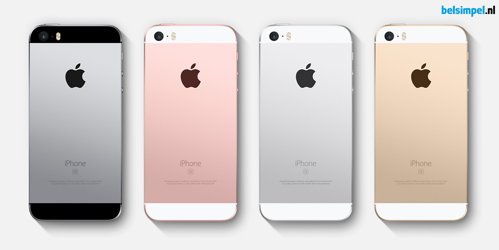 Compacte Apple iPhone SE aangekondigd!