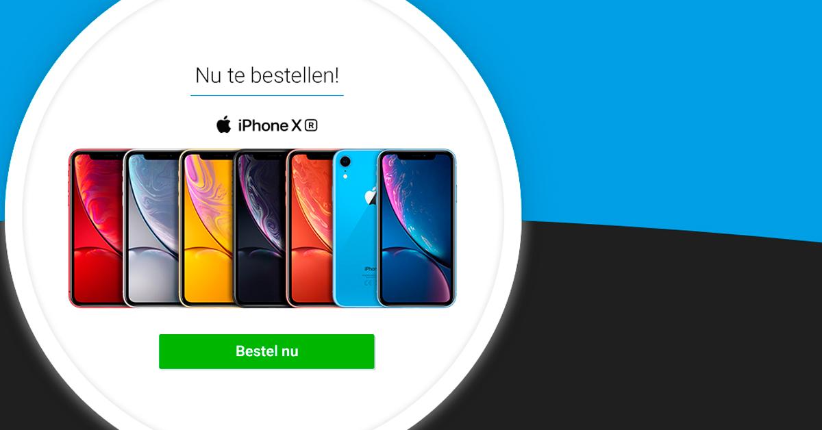 Nu te bestellen bij Belsimpel: de iPhone XR in zes kleuren