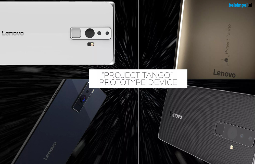 Project Tango wordt werkelijkheid: eerste Lenovo Project Tango-smartphone gelekt