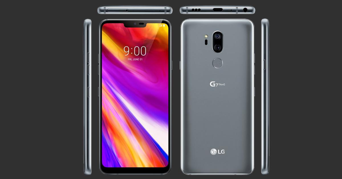 LG G7 ThinQ: extreem helder scherm met opvallende verhouding