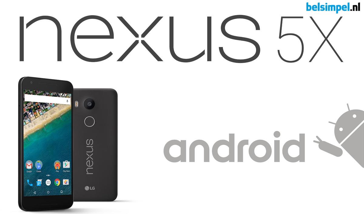 Nexus-familie uitgebreid met LG Nexus 5X en Huawei Nexus 6P