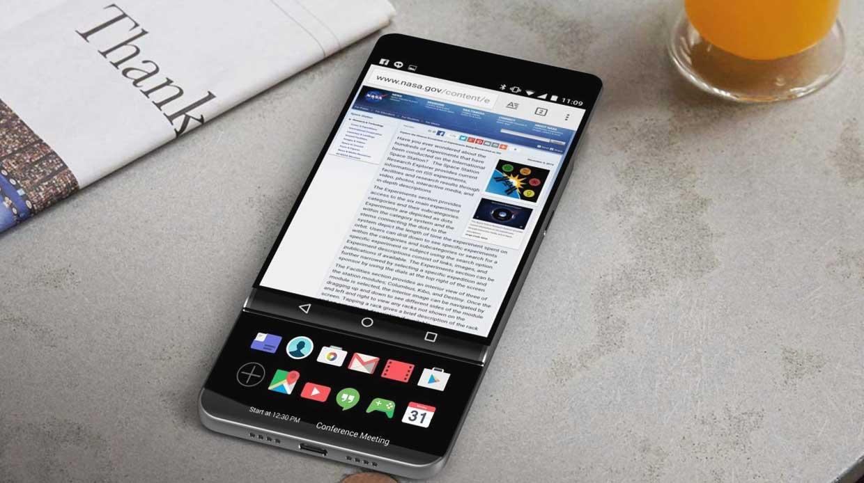Ontwikkelt LG een smartphone met een uitschuifbaar scherm?