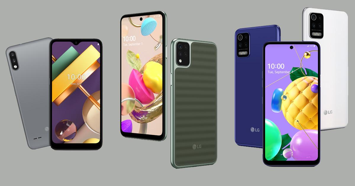 LG presenteert nieuwe telefoons in betaalbare K-serie