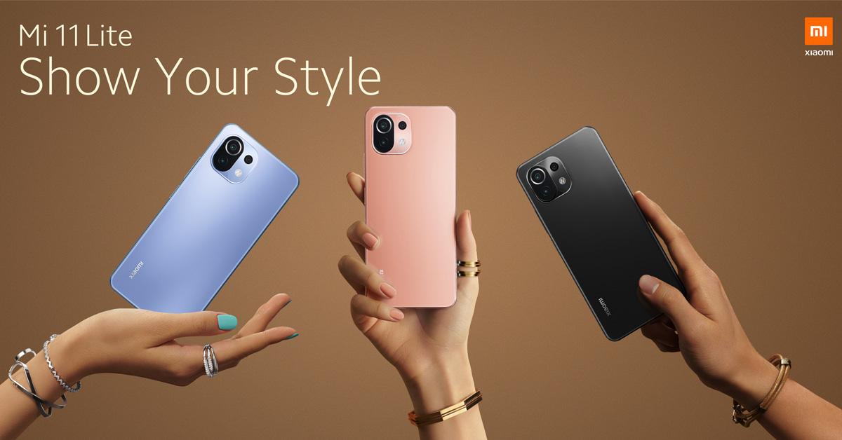 Xiaomi Mi 11 Lite vanaf vandaag te bestellen