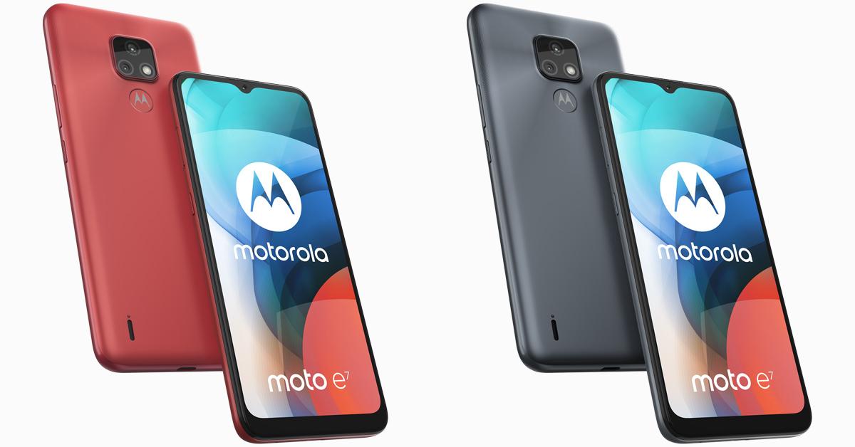 Motorola presenteert betaalbare budgettelefoon Moto E7
