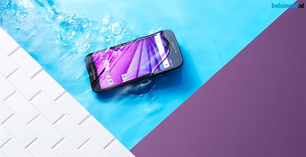 Tot en met 31 december: 30 euro cashback bij aankoop van de Motorola Moto G (3rd Gen)