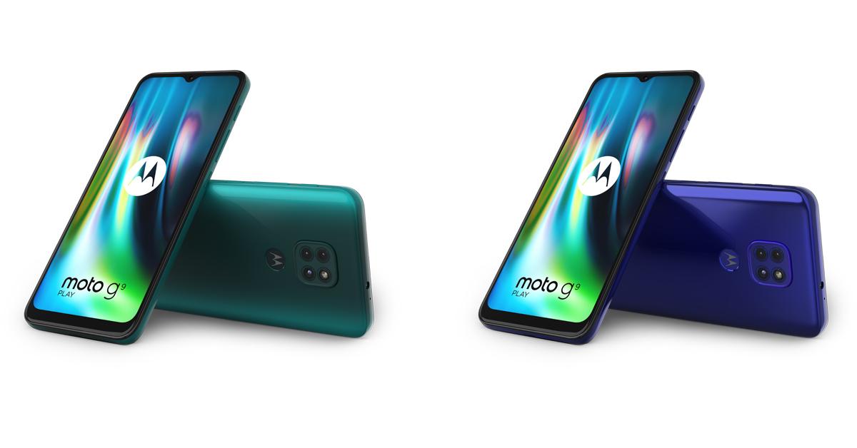Motorola presenteert betaalbare Moto G9 Play