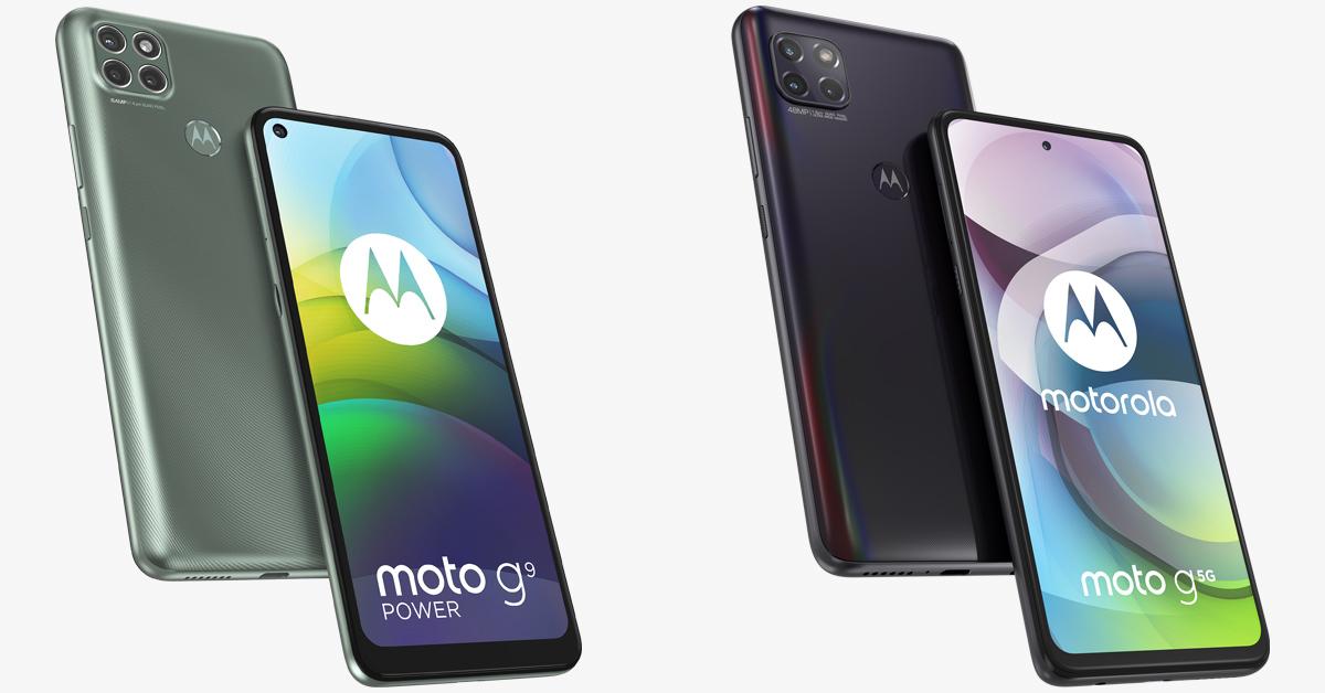Motorola presenteert Moto G9 Power en Moto G 5G