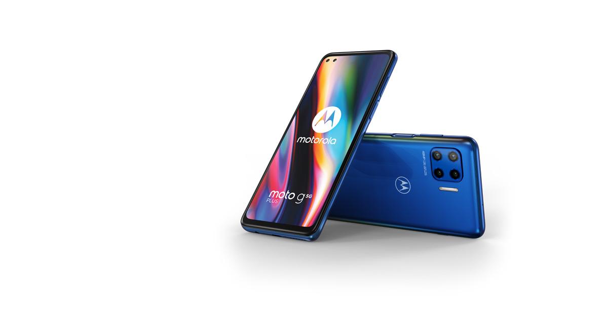 Motorola kondigt toegankelijke 5G-telefoon Motorola Moto G 5G Plus aan