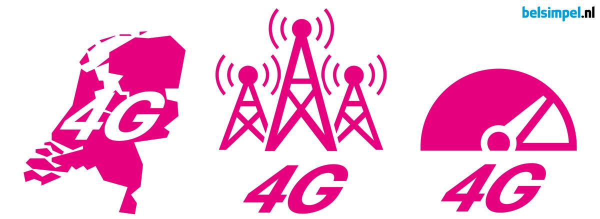 T-Mobile lanceert nieuw landelijk 4G-netwerk