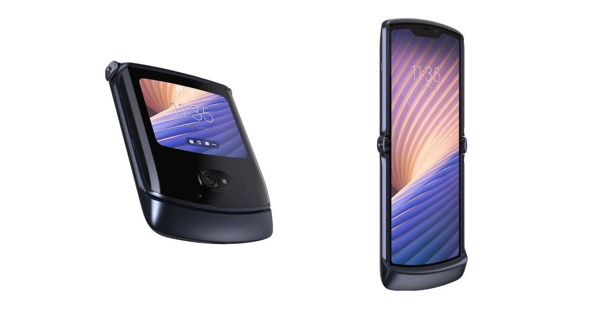 Een nieuwe vouwbare telefoon mét 5G: de Motorola Razr 5G