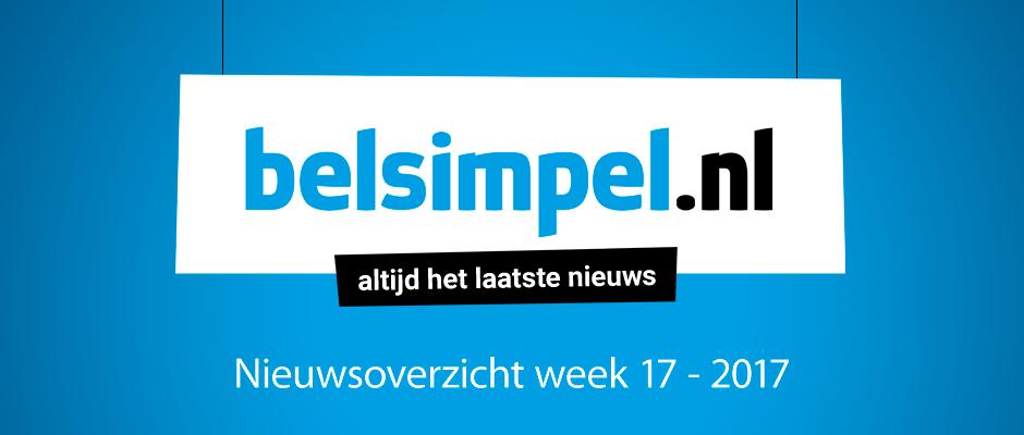 Het telecomoverzicht van week 17 2017