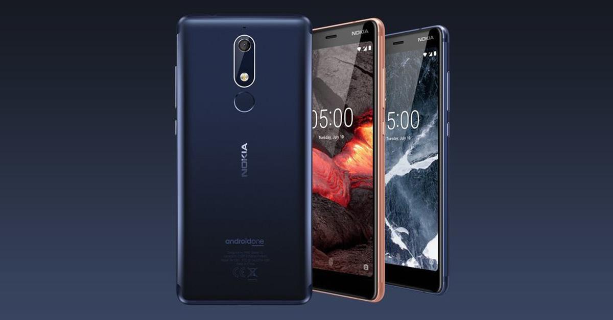 Nokia presenteert Nokia 2.1, Nokia 3.1 en Nokia 5.1