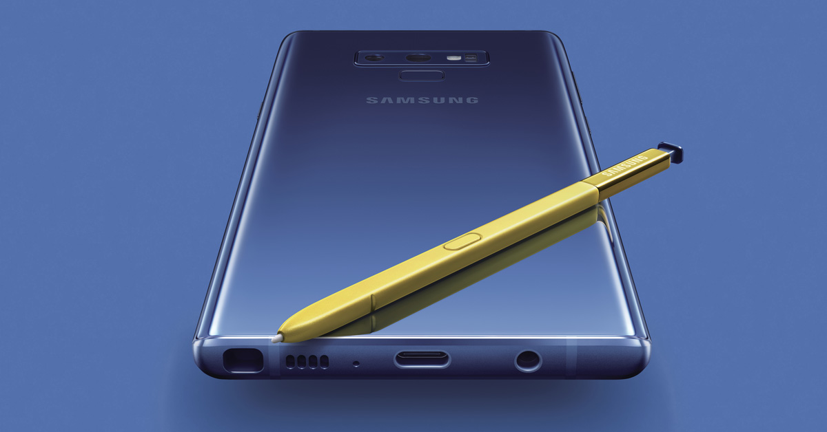 Samsung Galaxy Note 9 officieel: Meer productiviteit, weinig vernieuwing