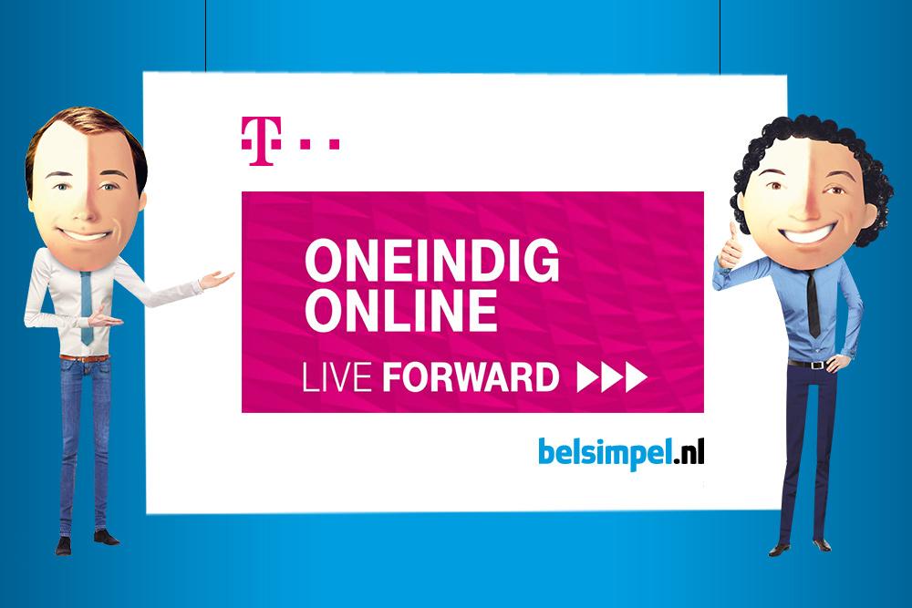 T-Mobile introduceert Oneindig Online