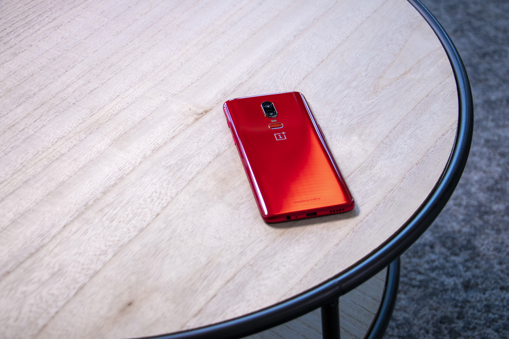 OnePlus 6 Red Back