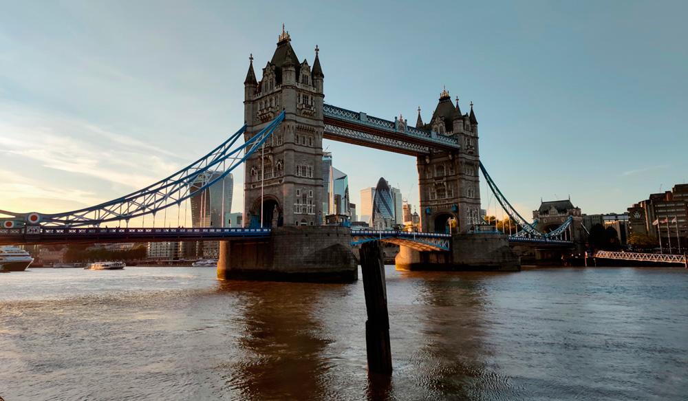 Tower Bridge gemaakt met OnePlus 7 Pro