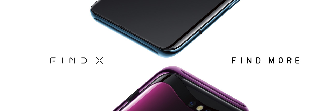 Oppo Find X, Oppo Find X Smartphone, Oppo Find X Bordeaux Red, Oppo Find X Glacier Blue, Find More, Oppo, Oppo Smartphone