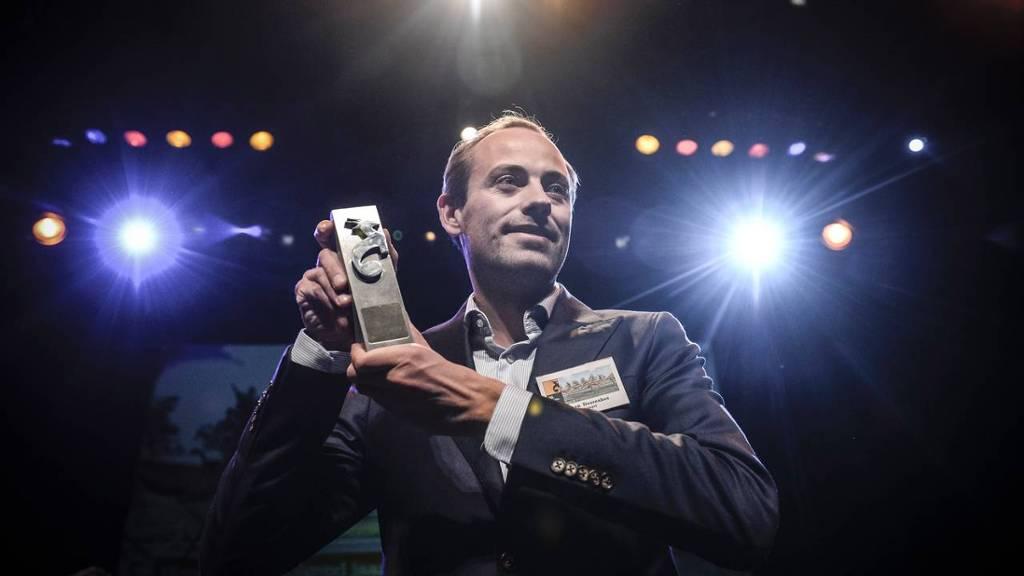 Belsimpel.nl wint de Oryx tijdens FD Gazellen Finale