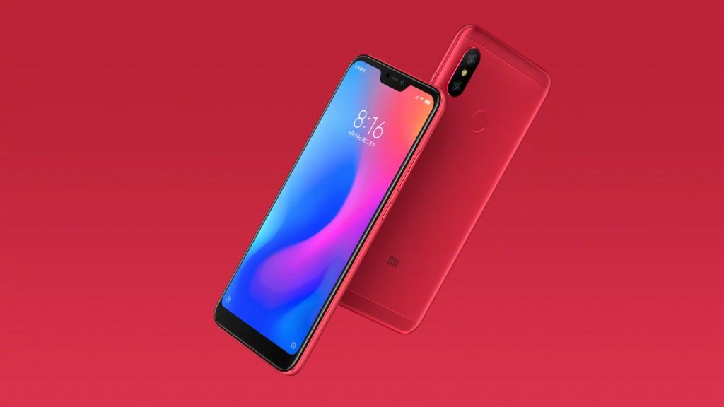 Xiaomi Redmi 6 Pro, Red