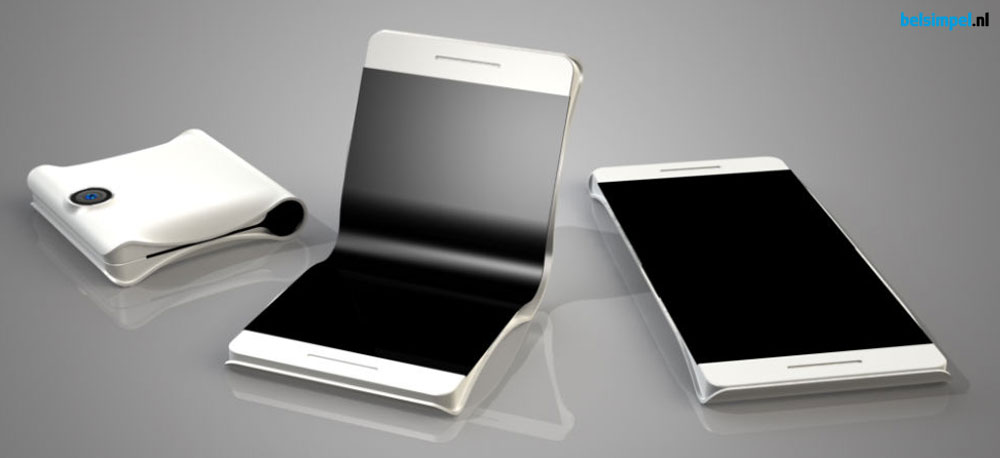 De terugkeer van de flip-phone? Samsung komt waarschijnlijk met vouwbare telefoondisplays!