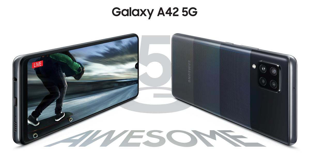 De nieuwe Samsung Galaxy A42: midranger met 5G!