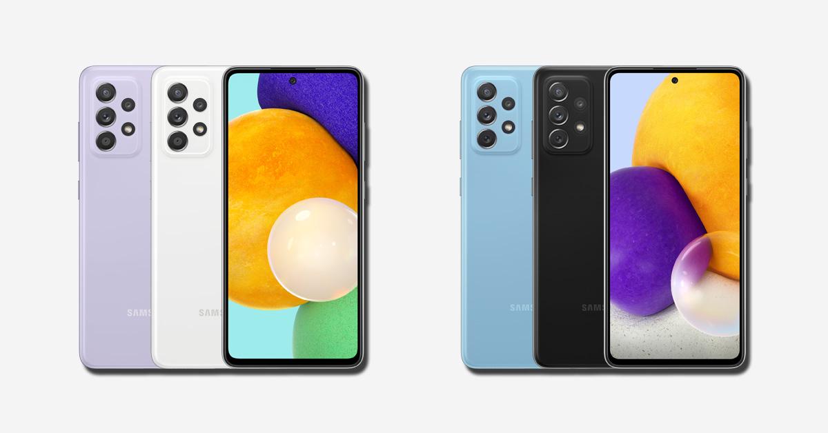 Samsung presenteert nieuwe midrange-smartphones