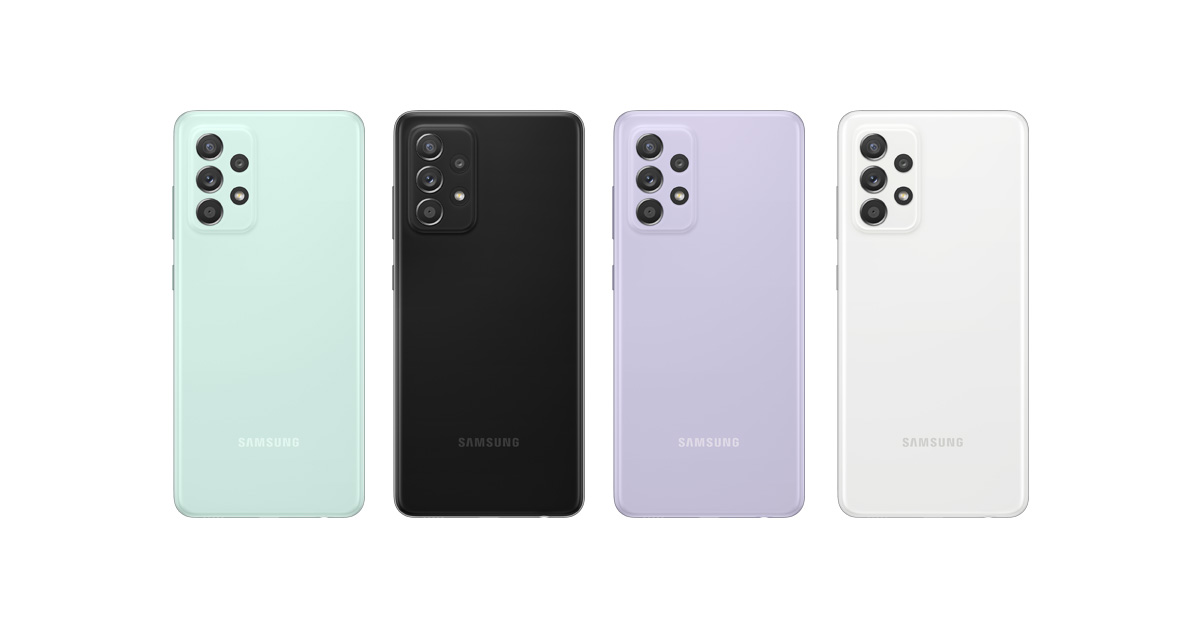 Samsung kondigt Galaxy A52s aan met verbeterde processor