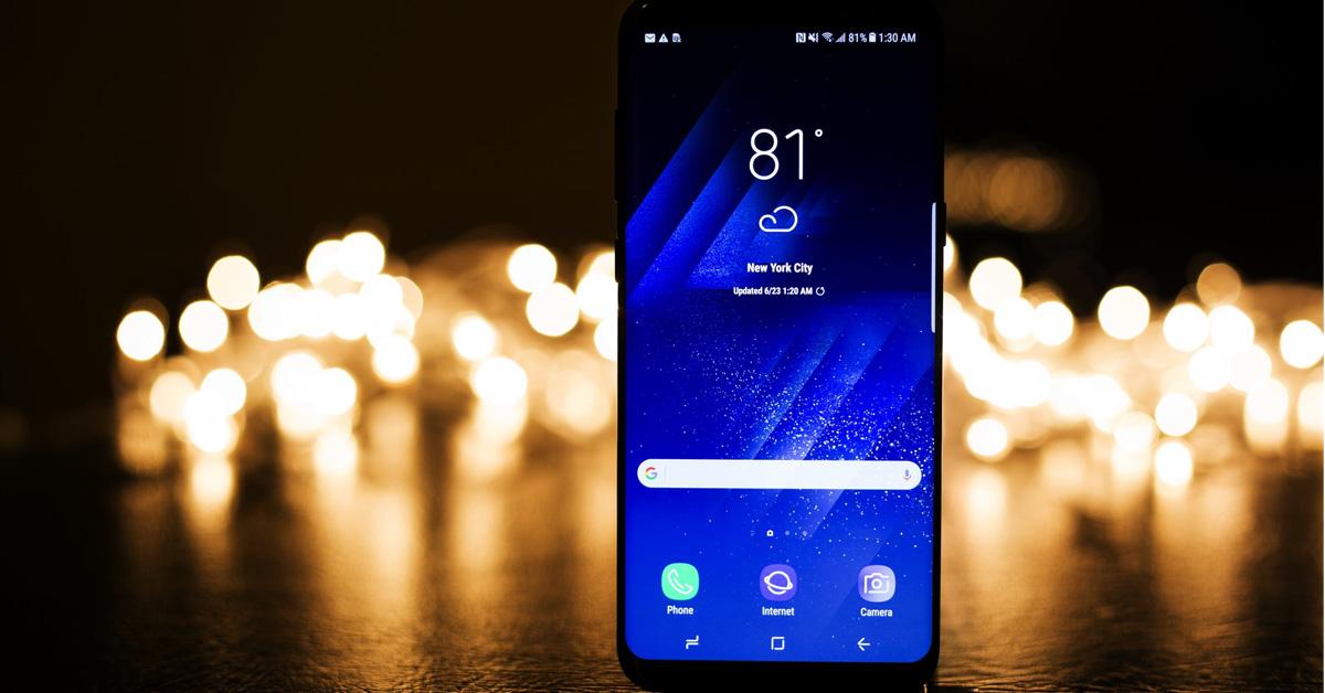 Samsung Galaxy S10: de race naar een randloze smartphone