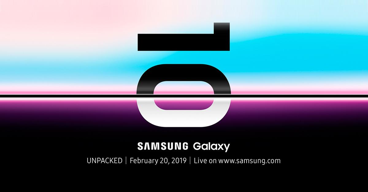Samsung Galaxy S10 release en verwachte specs