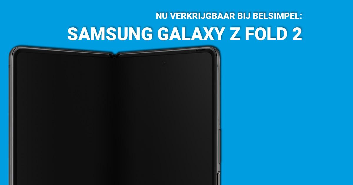Nieuwe vouwbare smartphone: Samsung Galaxy Z Fold 2!